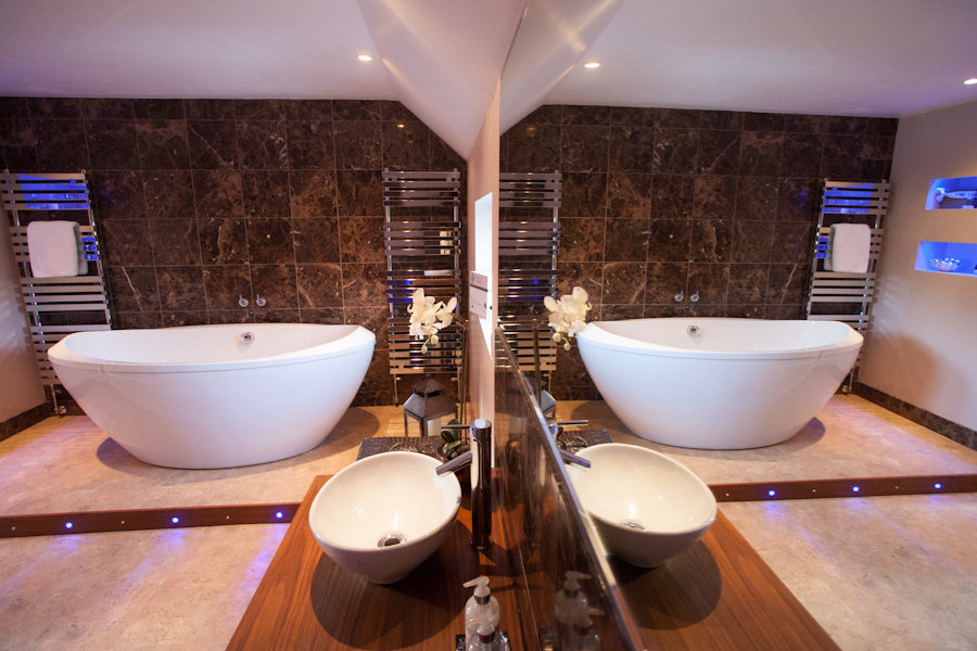 Modern bathroom installation in East Sussex