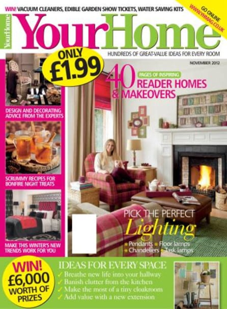 Recently Featured in Your Home Magazine